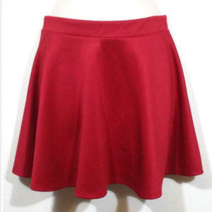 CELINE by CHAMPION Stretch Mini Flare Skirt 1367E1